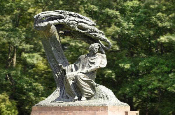 Pomnik Chopina Łazienki Królewskie