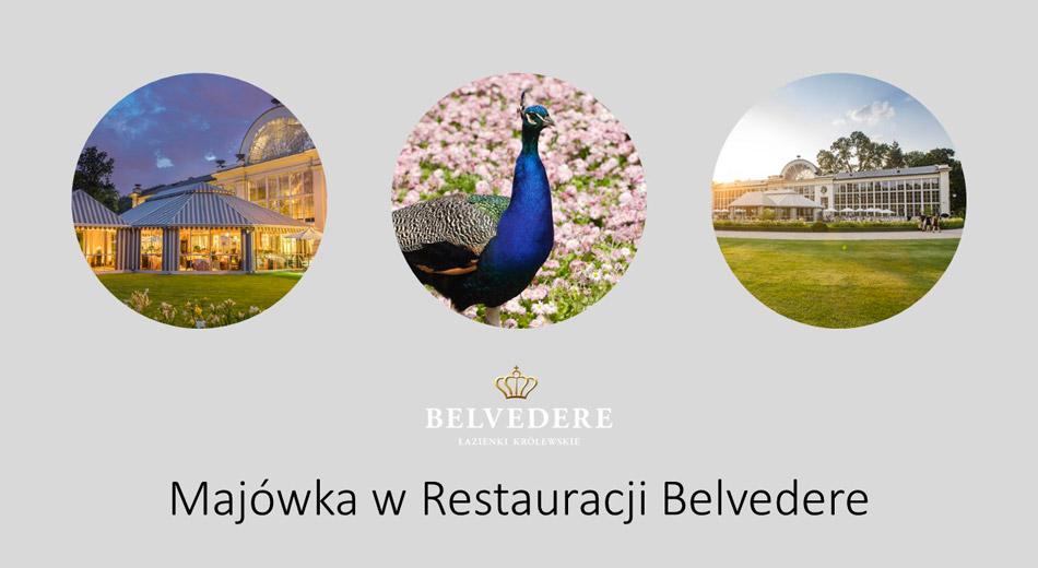 Majówka w Restauracji Belvedere