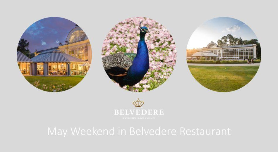 May Weekend in Belvedere Restaurant
