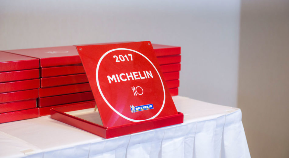 Belvedere Restaurant awarded with Michelin Plaque 2017