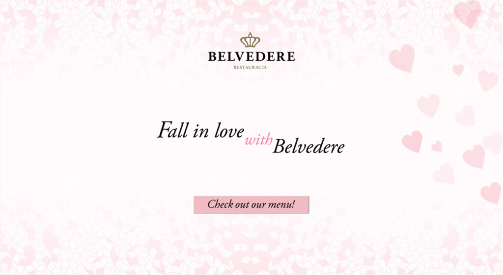 Fall in love with Belvedere