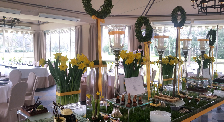 Easter brunch in the very heart of the Royal Łazienki Park